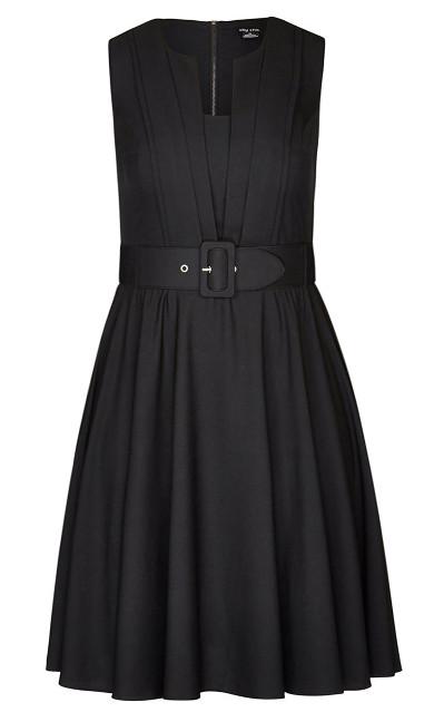 Vintage Veronica Dress - black