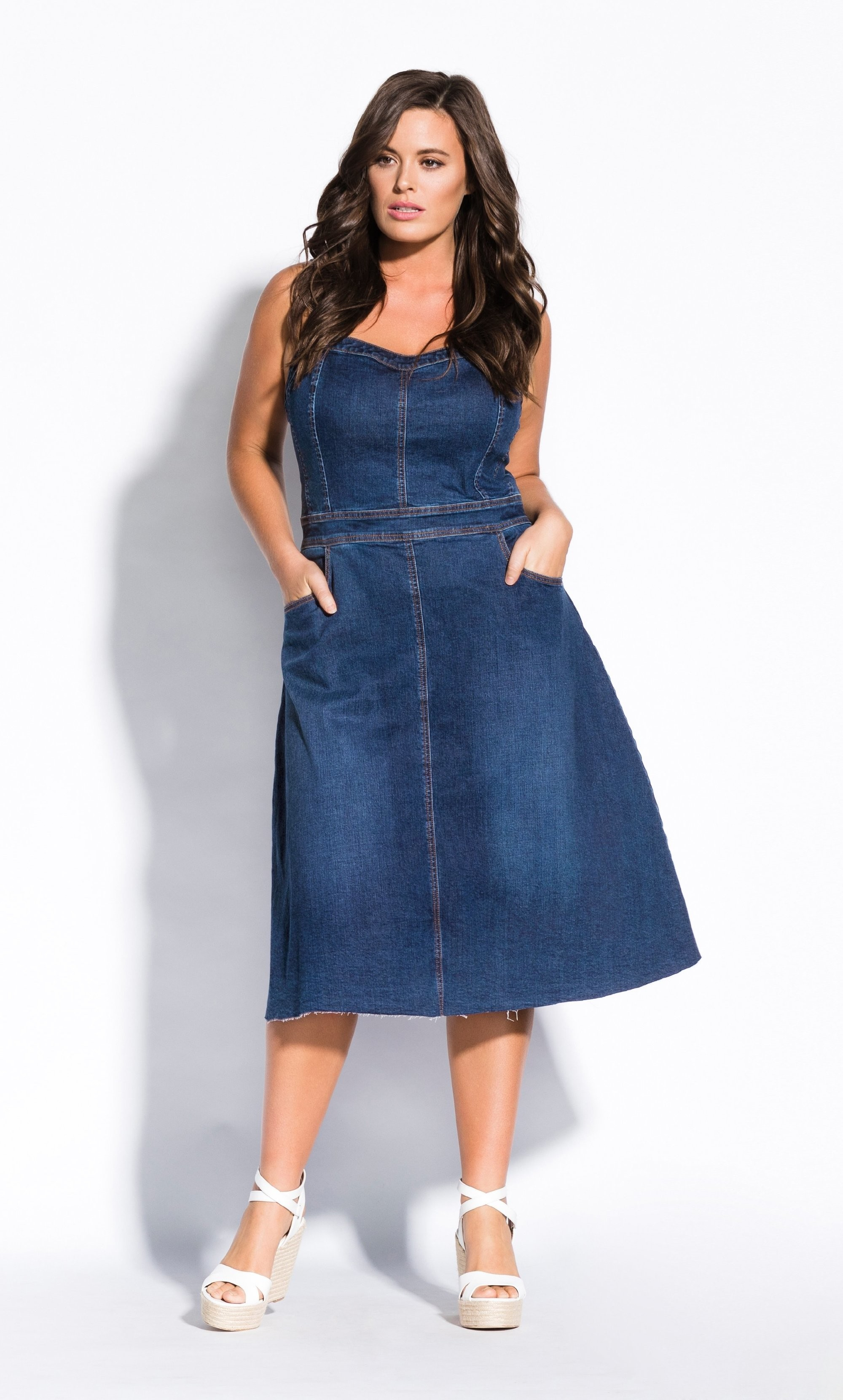 Sweet Denim Dress denim