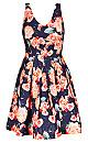 Women's Plus Size Rosey Posey Dress | City Chic USA