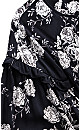 Divine Rose Maxi Dress - navy
