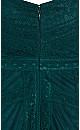 Divine Whimsy Maxi Dress - emerald