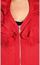 Cropped Ruffle Jacket