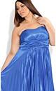 Pleat Party Dress