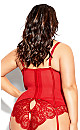 Delores Bustier - red