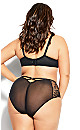 Plus Size Abby Underwire Bra - black
