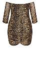 Plus Size Unleashed Dress - ochre