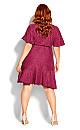 Plus Size Sweet Luv Dress - magenta