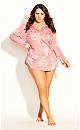 Sienna Sleep Shirt - peach