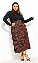 Mini Tiger Skirt - tawny