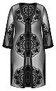 Plus Size Lost Angel Jacket - black
