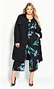 Plus Size Winter Iris Jumpsuit - black