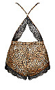 Slinky Romper - leopard print