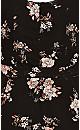 Imperial Floral Playsuit - black