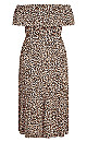 Safari Midi Dress - leopard