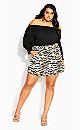 Tigress Short - tiger print