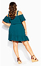 Paradise Dress - teal