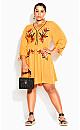 Sunshine Embroidered Dress - sunshine