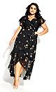 Petal Rain Maxi Dress - petal