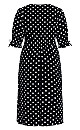 Synergy Spot Dress - ivory spot