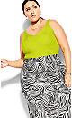 Safari Skirt - zebra print