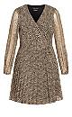 Luxe Leopard Dress - leopard