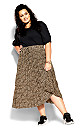 Luxe Animal Skirt - leopard