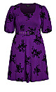 Wild Heart Dress - petunia