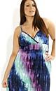 Knit Watercolour Tie Dye Maxi