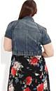 Dirty Girl Denim Jacket
