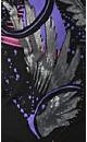 Free Spirit Graffiti Top