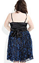 Rose Swirl Dress