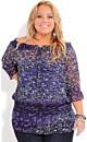 Women's Plus Size Top Jewel Romantic | City Chic USA