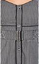 Stripe Button Front Dress