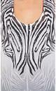 Monotone Zebra Top