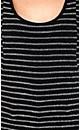 Lurex Stripe Top