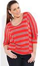 Asymmetrical Stripe Top