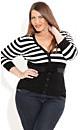 Cheeky Stripe Cardigan