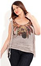 Feather Photo Top