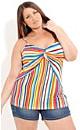 Twisted Stripe Top