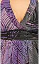 Hypnotic Feather Maxi Dress