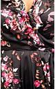 Lace Back Floral Dress