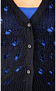 Open Knit Longline Cardigan