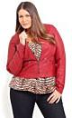 Red Joni Jacket