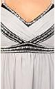 Silver Dream Beaded Dress