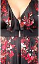 Lace Back Print Tunic