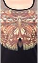 Mirror Butterfly Graffiti