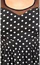 Sweetheart Polka Dot Dress
