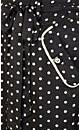 So Cute Spot Maxi Dress