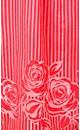 Burnout Floral Stripe Dress