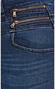 Zip Hi Waist Bootleg Jean